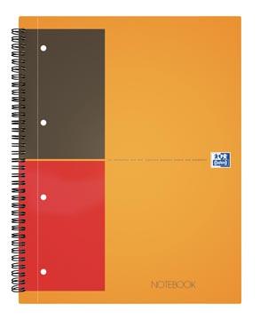Oxford cahier International Notebook Connect, sans pages à scanner, 160 pages, ft A4+, ligné