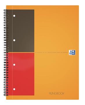 Oxford INTERNATIONAL Filingbook, 200 pages, ft A4+, quadrillé 5 mm