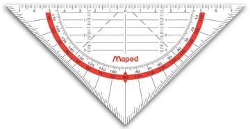 Maped équerre géométrique Geo-Flex