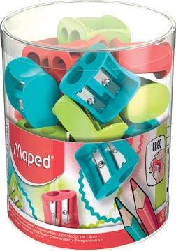 Maped taille-crayon Vivo 2 trous, en couleurs assorties