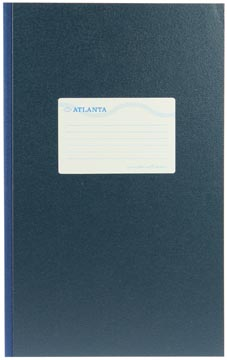 Atlanta by Jalema registre folio large 192 pages, bleu