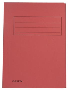 Class'ex chemise de classement, cerise, ft 23,7 x 32 cm (pour ft A4)