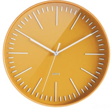 Orium by CEP horloge mural Tendance, jaune