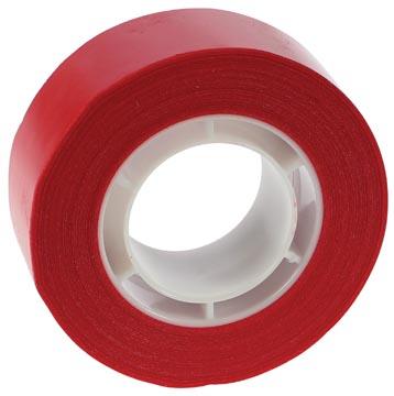 Apli ruban adhésif, rouge, Ft 19 mm x 33 m