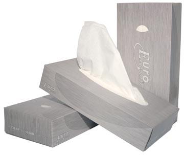 Europroducts mouchoirs en papier, 2 plis, 100 feuilles