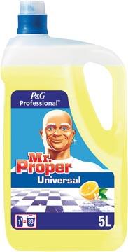 Mr. Propre détergent universel, citron, bouteille de 5 l