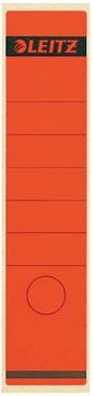 Leitz étiquettes de dos ft 6,1 x 28,5 cm, rouge