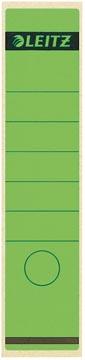 Leitz étiquettes de dos ft 6,1 x 28,5 cm, vert
