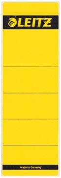 Leitz étiquettes de dos ft 6,1 x 19,1 cm, jaune