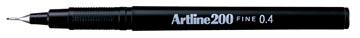 Artline feutre 200, noir