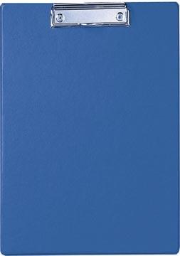 Maul plaque à pince, en PP, pour ft A4, bleu