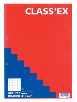Class'ex bloc de cours, quadrillé 5 mm