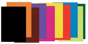 Papier à dessin coloré ft 25 x 35 cm