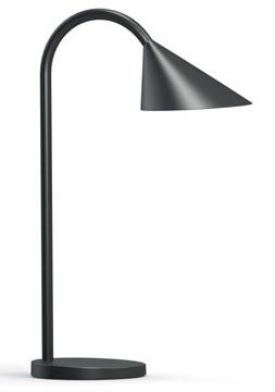 Unilux lampe de bureau Sol, lampe LED, noir
