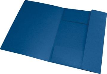 Oxford Top File+ farde à rabats, pour ft A4, bleu foncé