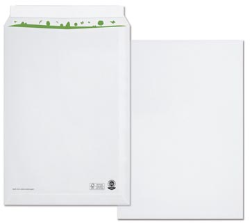 Bong enveloppes pochettes beECO, ft 229 x 324 (C4), sans fenêtre, boîte de 250 pièces