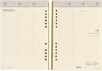Brepols Brefax 7 recharge agenda, 2022
