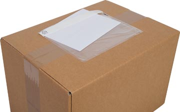 Cleverpack pochette documents, non-imprimé, ft 165 x 112 mm, paquet de 100 pièces