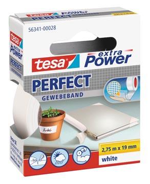 Tesa extra Power Perfect, ft 19 mm x 2,75 m, blanc