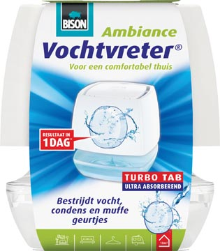 Bison absorbeur d'humidité rechargeable Ambiance, 100 gram