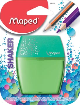 Maped taille-crayons Shaker, 2 trous, sous blister