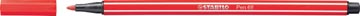 STABILO Pen 68 feutre, carmin