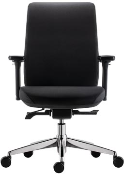 Chaise de bureau Zurich Synchro Chrome
