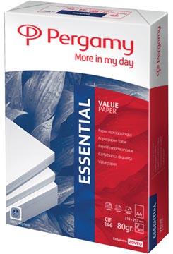 Pergamy papier d'impression Essential, ft A4, 80 g, paquet de 500 feuilles