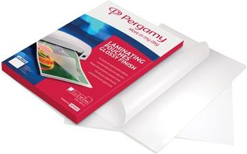 Pergamy pochette à plastifier, ft A5, 250 microns (2 x 125 microns), paquet de 100 pièces