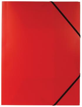 Pergamy chemise à rabats et élastiques rouge