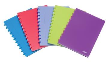 Atoma cahier Trendy ft A4, quadrillé 5 mm, couleurs assorties