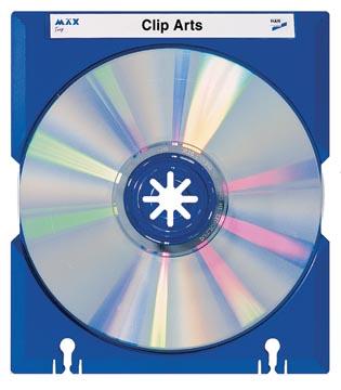 Han Mäx boîtier CD/DVD bleu