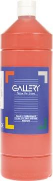 Gallery gouache, flacon de 1.000 ml, rouge foncé