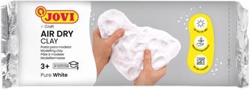 Jovi pâte à modeler, blanc, paquet de 1 kg