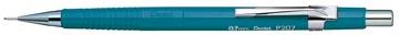 Pentel portemine pour mines de 0,7 mm, corps bleu