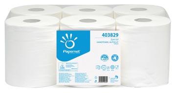 Papernet rouleau d'essuie-mains Special, 2 plis, 140 mètres, paquet de 6 rouleaux