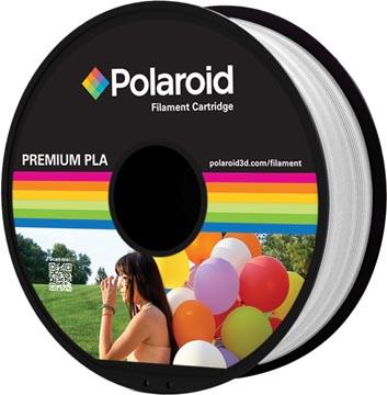 Polaroid 3D Universal Premium PLA filament, 1 kg, blanc