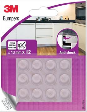 3M Bumpers, Anti shock, 13 mm, blister de 12 pièces