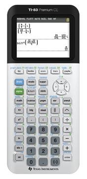 Texas calculatrice graphique TI-83 Premium CE, teacher pa ck: 10 pièces