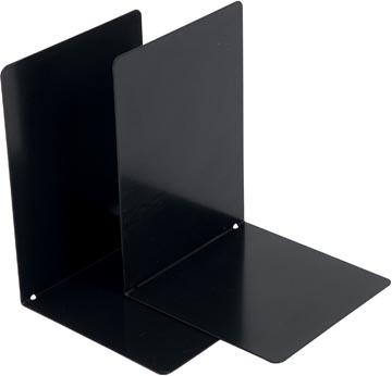 V-Part Bloc-livres métal, lot de 2 pièces, noir